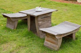 Садовая мебель на дачу своими руками   Пикабу