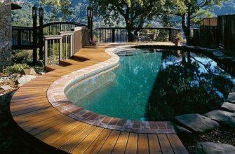 Бассейн на террасе или как сделать террасу с бассейном