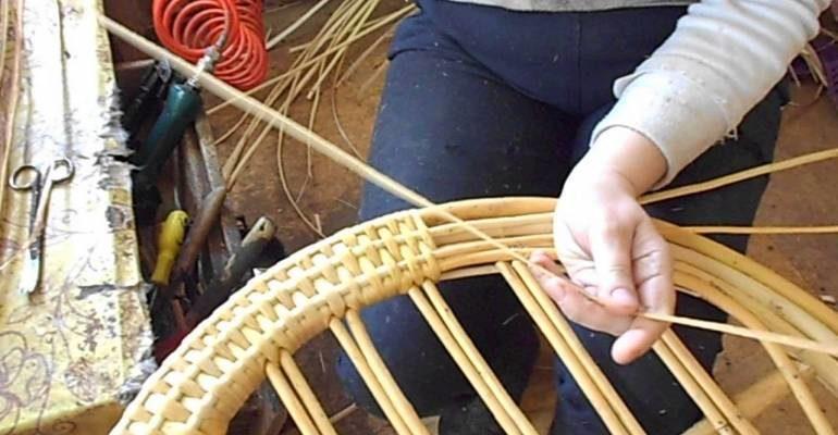 Плетеная мебель из лозы, ротанга своими руками — пошаговая инструкция с фото, видео и схемами
