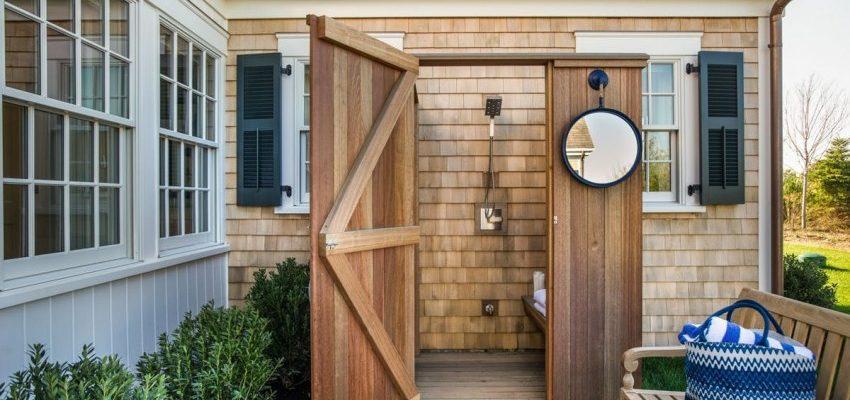 Как сделать летний душ для дачи своими руками – уличная душевая для сада, устройство, схема постройки   фото