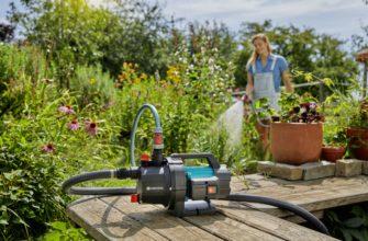 Насосы для полива из бочки: как выбрать для огорода? Электрический и поливочные поверхностные насосы с автоотключением, циркуляционные и другие виды
